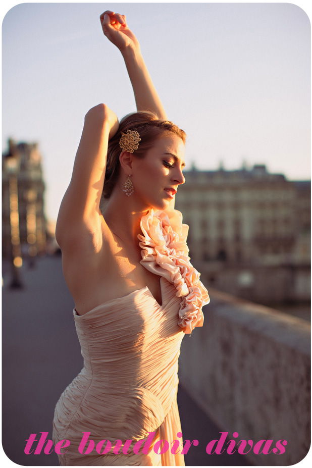 Paris_bridge-seine-river- beautiful-fashion-gown