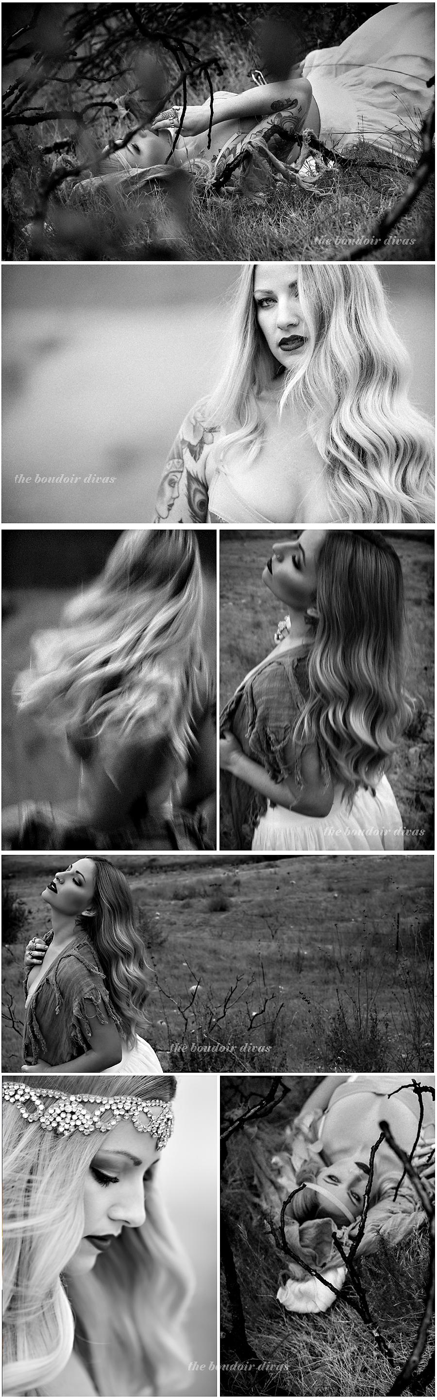 fall-boudoir-divas-outdoor-black-white