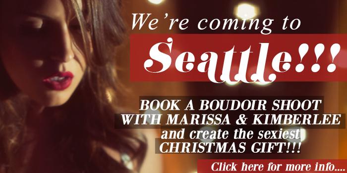 seattle christmas boudoir shoots
