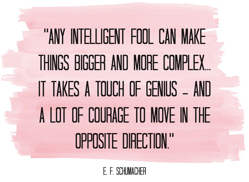 any intelligent fool quote