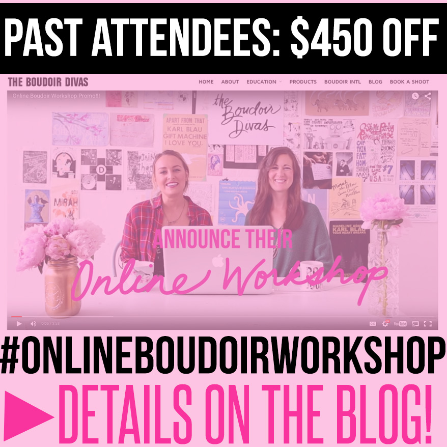 boudoir workshop online